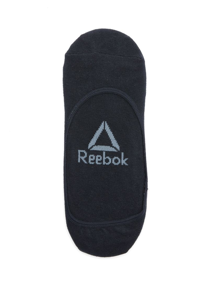 93b8e853 Shop Reebok 3-Pair Active Foundation Invisible Socks Black online in ...