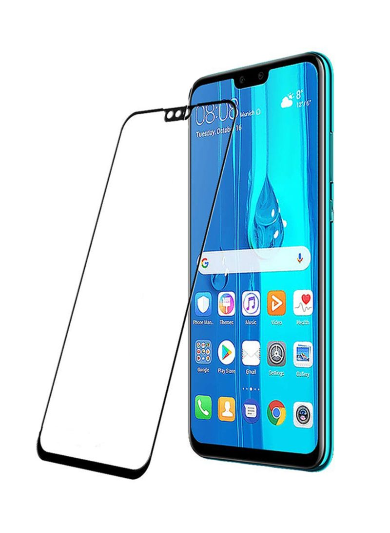 Shop yopah 5D Full Screen Surfaces Tempered Glass Screen Protector For  Huawei Y9 2019 Black/Clear online in Dubai, Abu Dhabi and all UAE