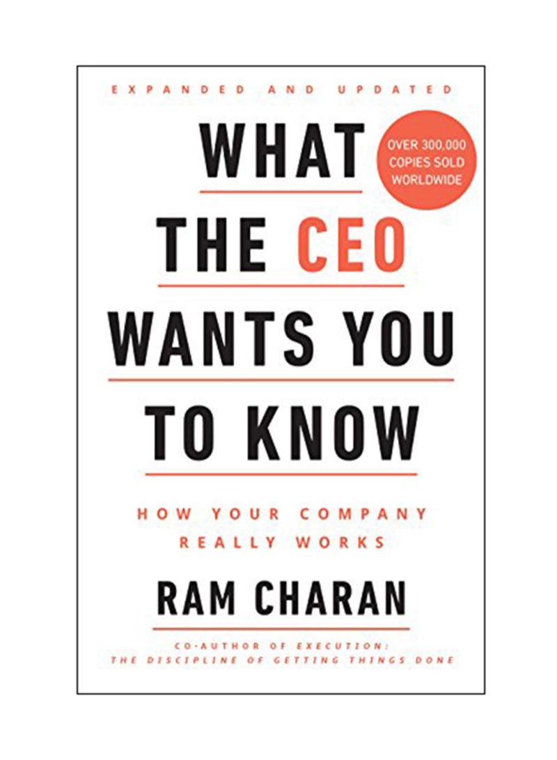 Shop What The CEO Wants You To Know: How Your Company Really