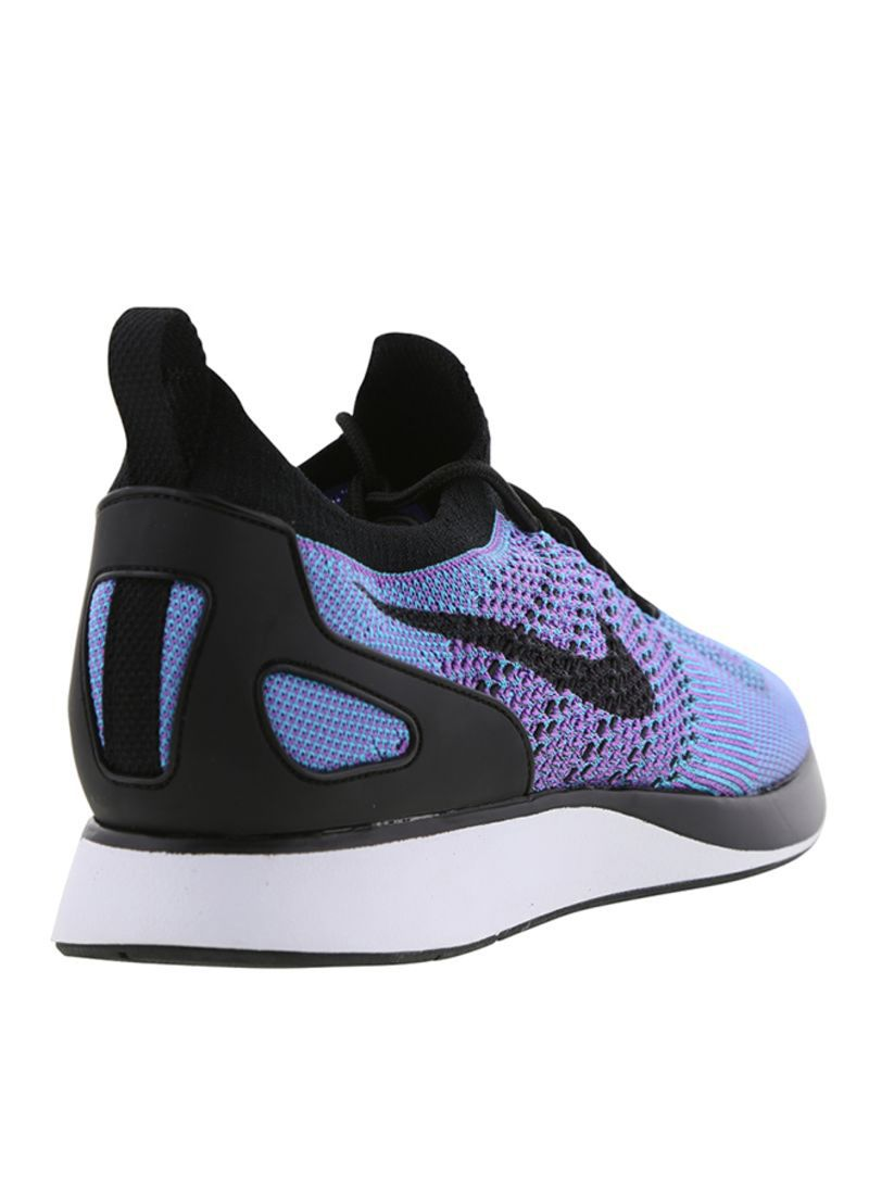 Cheapest Nike Air Zoom Mariah Flyknit Racer Bright Violet Chlorine Blue White Black 918264 500 Girls Women's Running Shoes Sneakers 918264 500