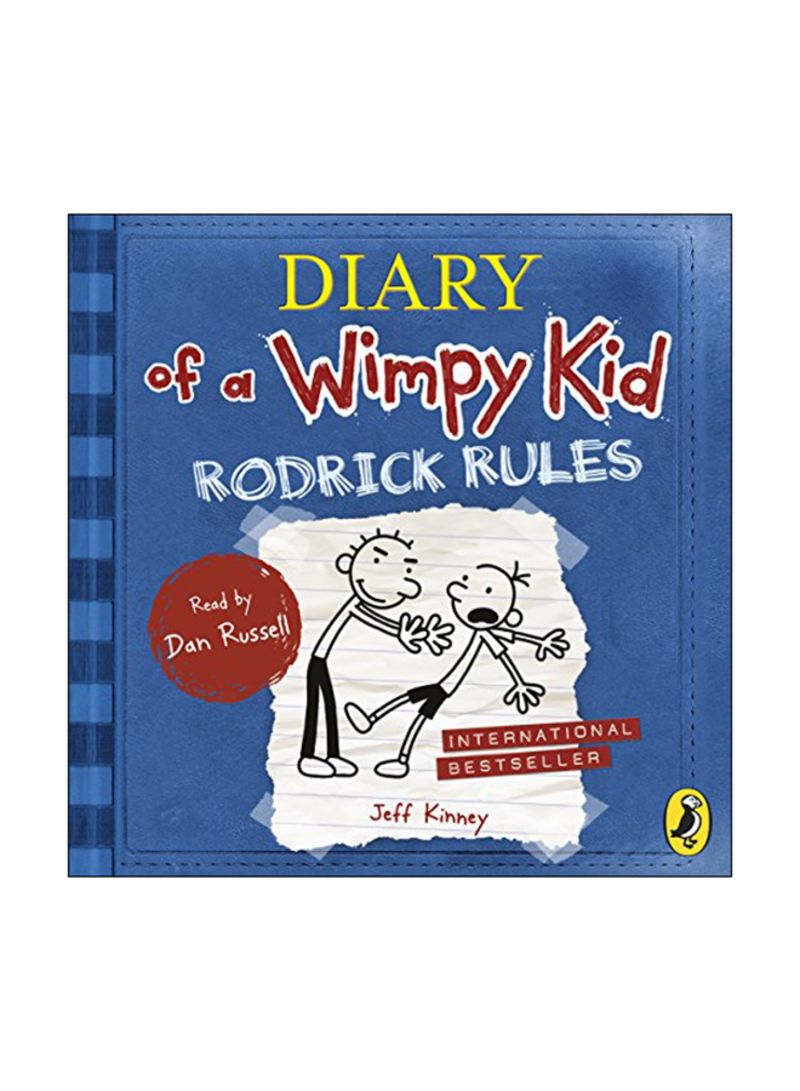 Shop Diary Of A Wimpy Kid Rodrick Rules Audio Book Online In Egypt