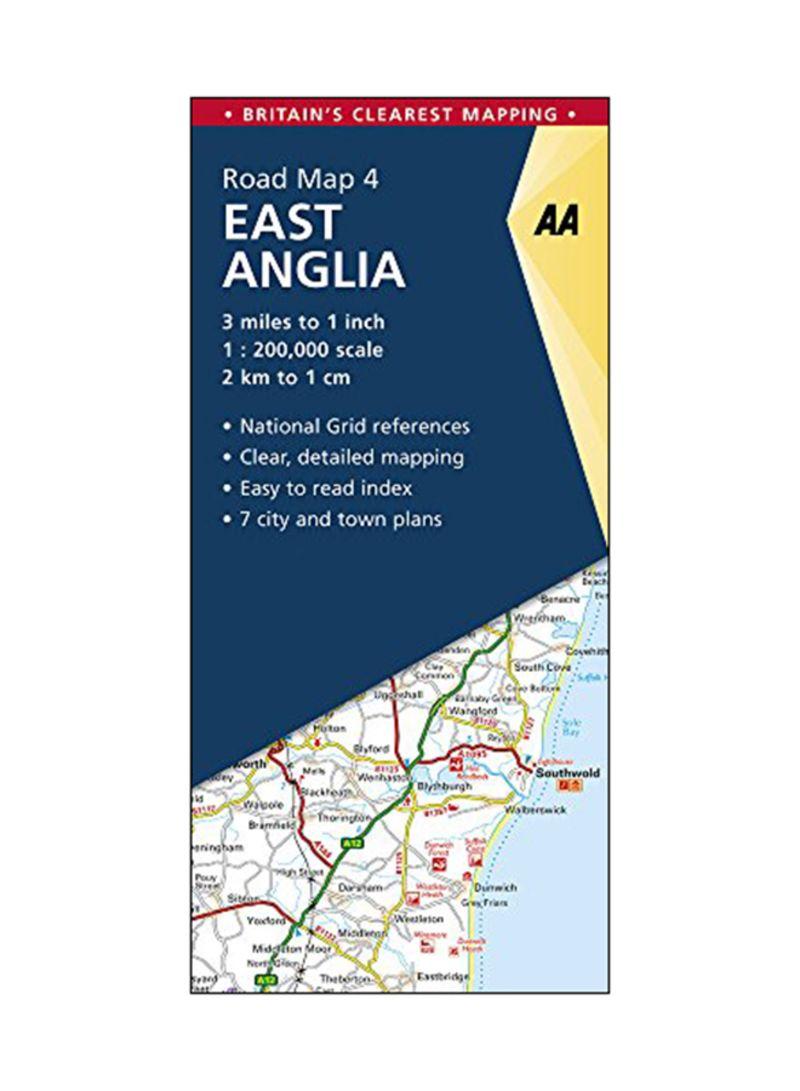Shop East Anglia: Road Map 4 Paperback 5 online in Dubai, Abu Dhabi and all  UAE