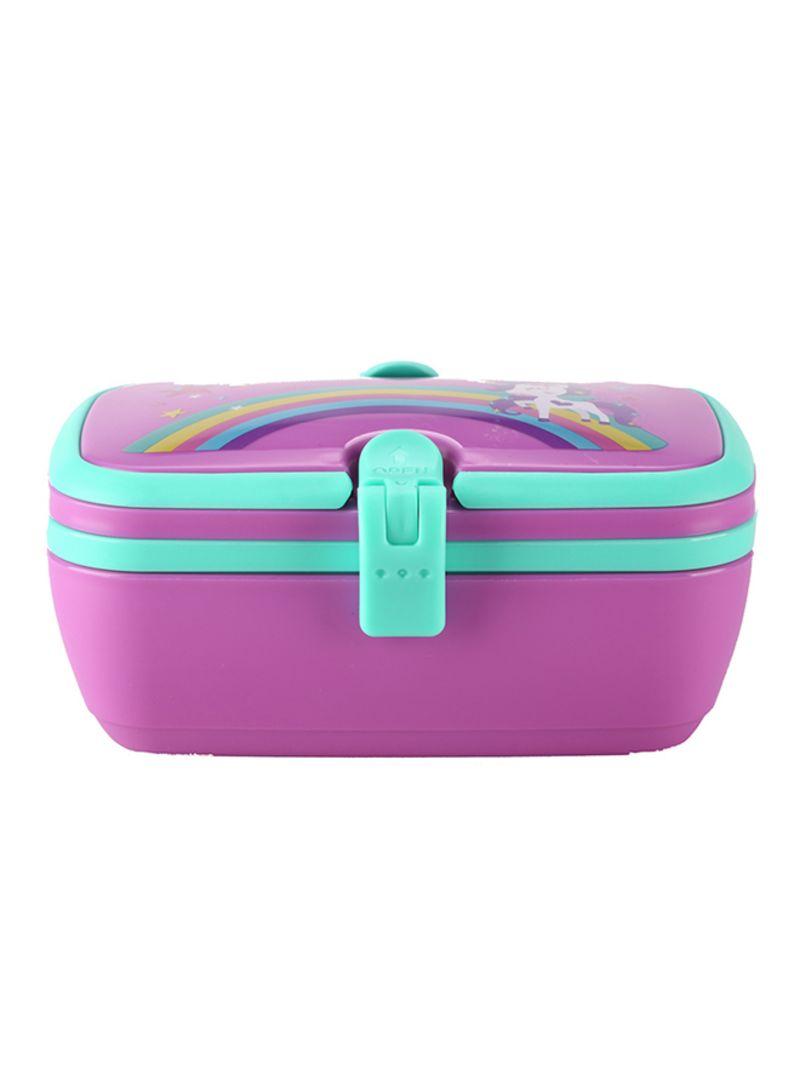 Shop SMILY KIDDOS Unicorn Lunch Box Purple 18 5x11 5x8 5 centimeter online  in Dubai, Abu Dhabi and all UAE