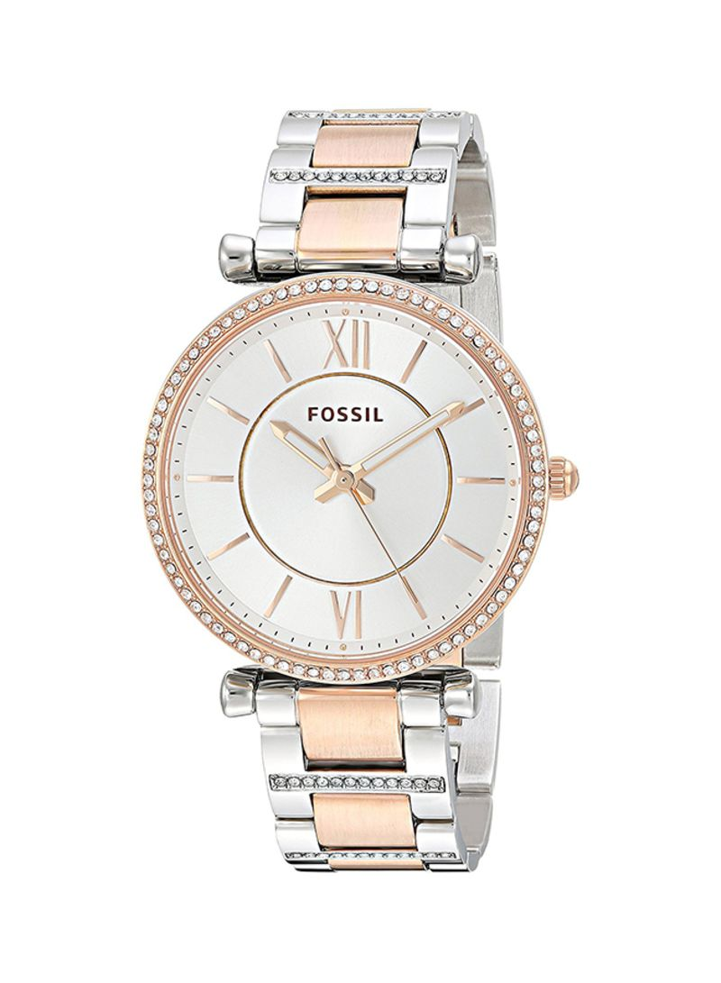 Shop Fossil Women's Stainless Steel Analog Watch ES4342