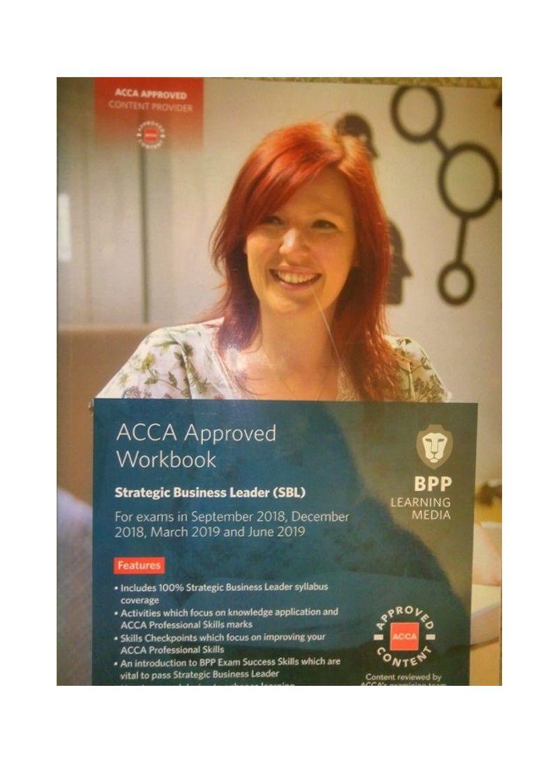 تسوق وACCA Approved Workbook: Strategic Business Leader Paperback أونلاين  في الإمارات