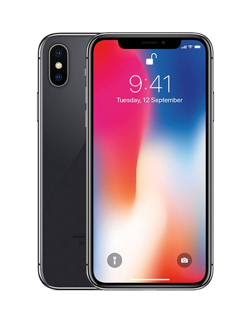 iPhone X With FaceTime Space Grey 64GB 4G LTE