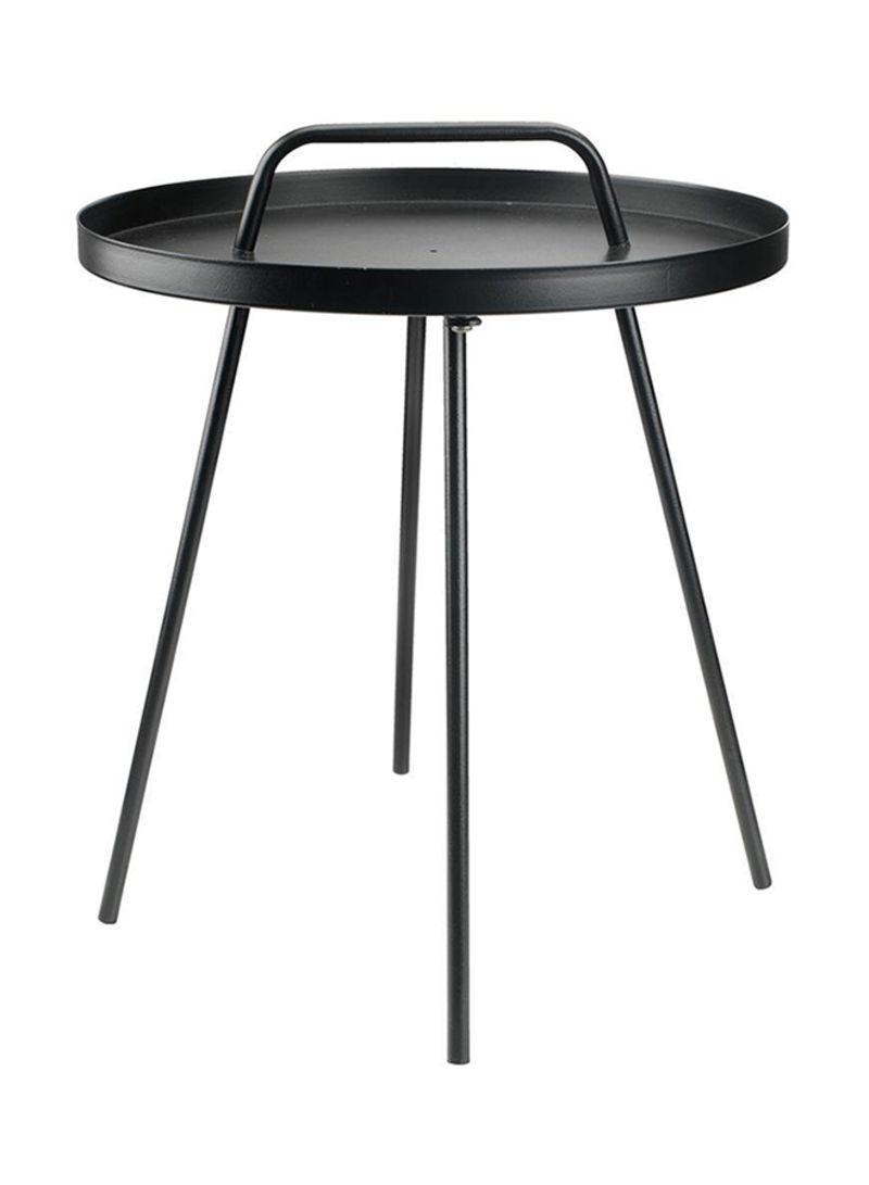 Side Table Jysk.Shop Jysk Designer Side Table Black 45x52 Centimeter Online In Dubai