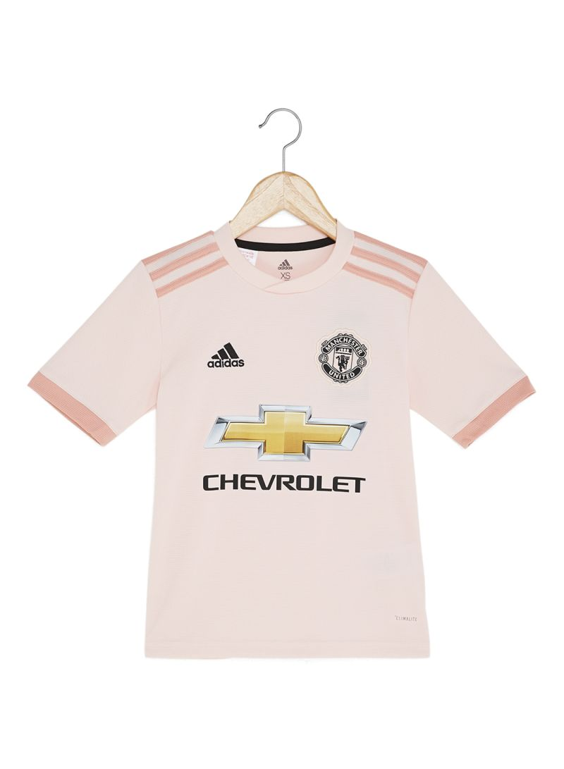 e89aeca34 Shop adidas Football Manchester United FC Away Jersey Icey Pink F17 ...