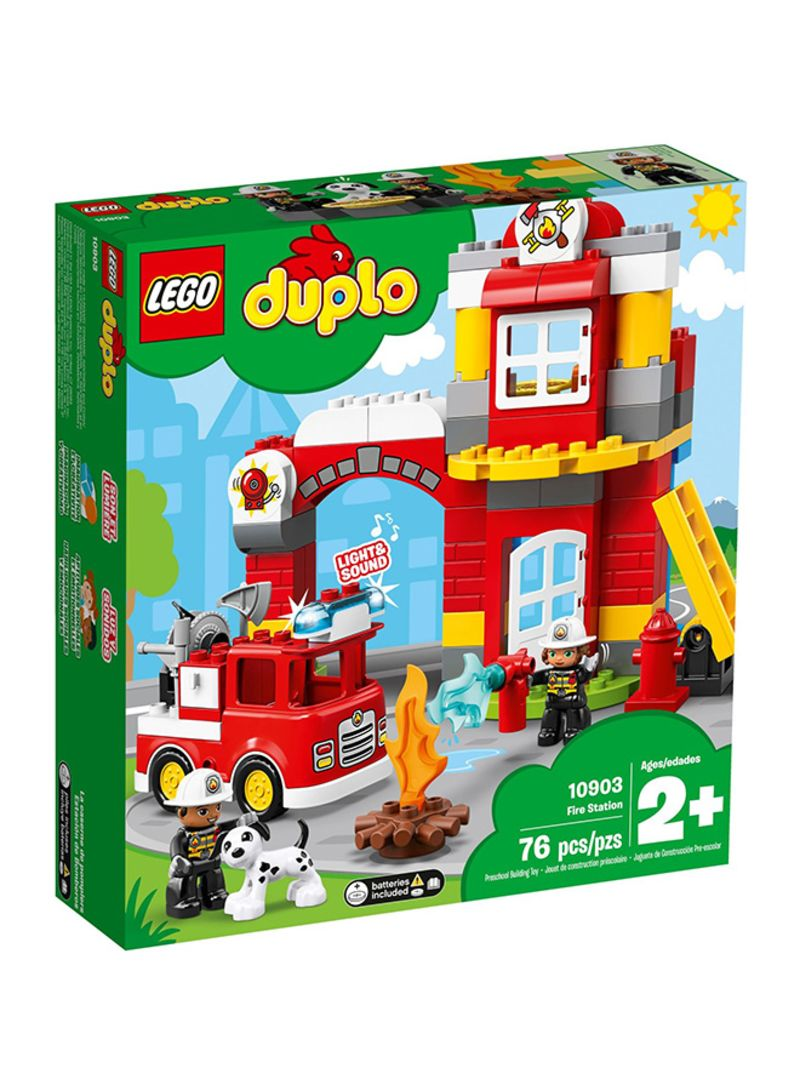 Shop LEGO Duplo Town Fire Station 10903 online in Dubai, Abu Dhabi and all  UAE