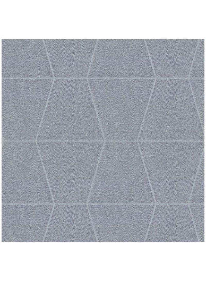 Shop Gaty Polaris Patterned Wallpaper Grey 156x106 Meter