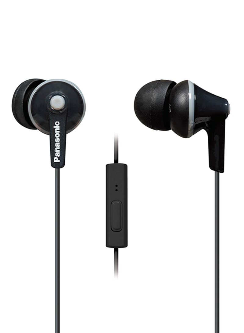 9d1221945eae71 otherOffersImg_v1548822242/N20695414A_1. Panasonic. Wired In-Ear Earbud  Earphone With Mic Black