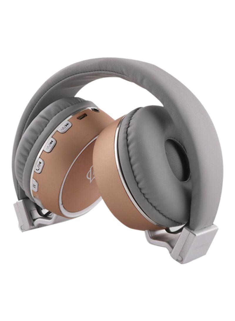 ed7040d9459 Shop Audionic Blue Beats On-Ear Bluetooth Headphone With Microphone ...