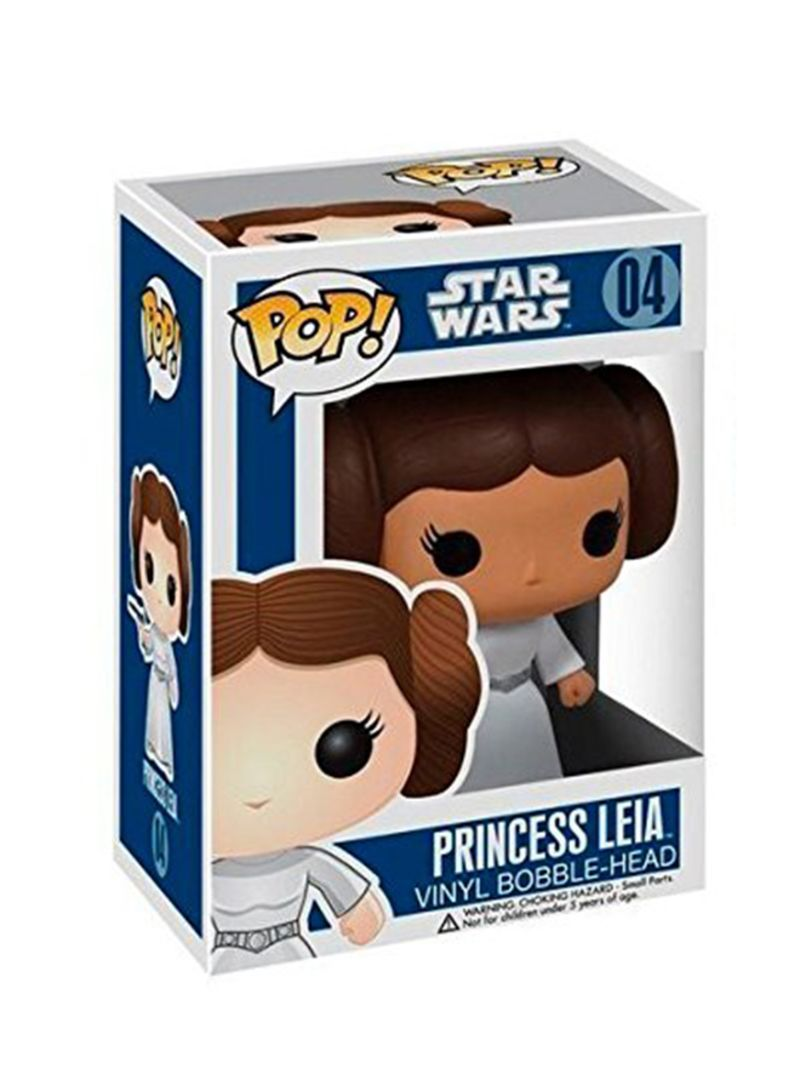 Funko 2319 Movie Star Wars Princess Leia Bobble Head Vinyl Figure