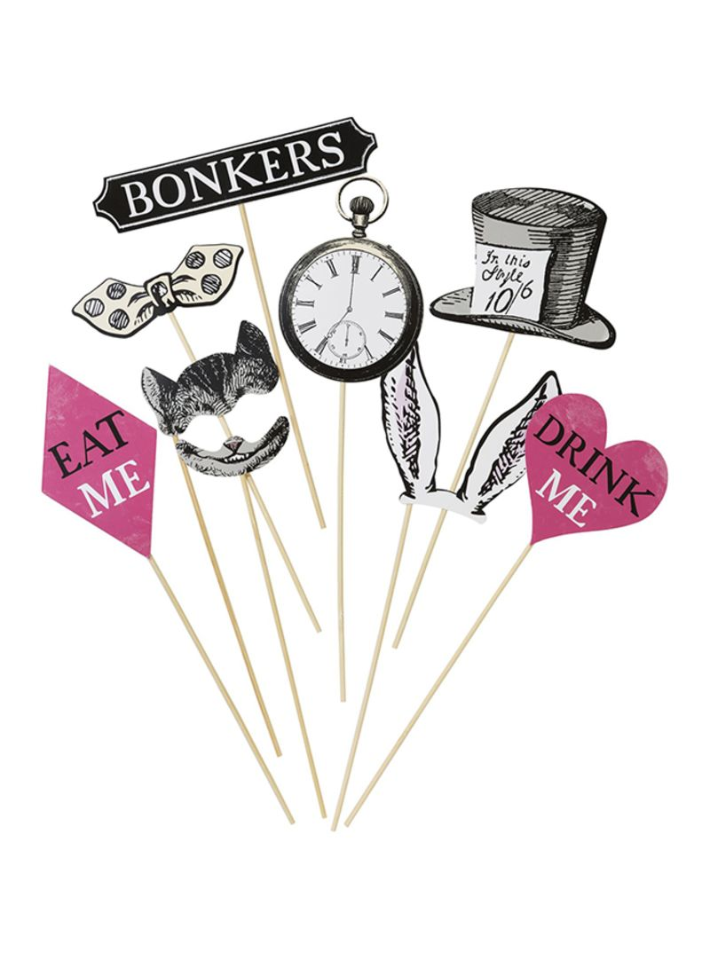 Shop Talking Tables 14-Piece Photo Booth Dress Up Props Party Pick