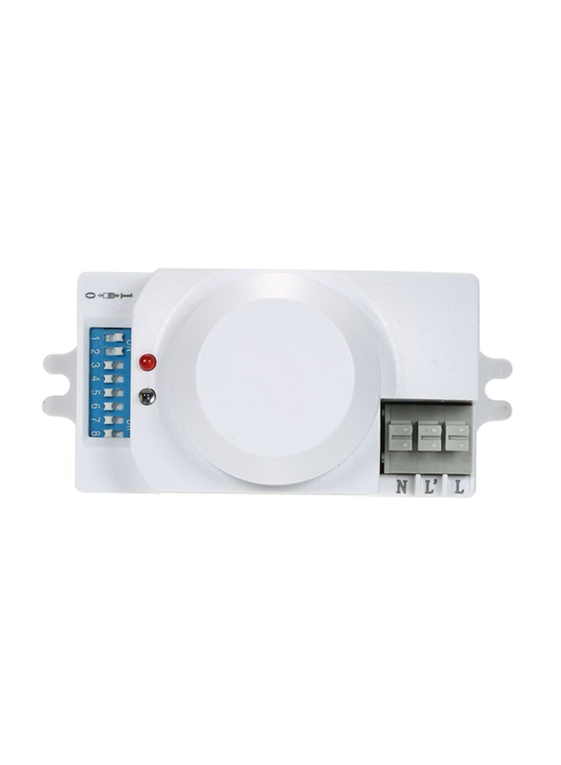 Shop Generic Microwave Radar Sensor Motion Detector White 0 082 kg online  in Dubai, Abu Dhabi and all UAE