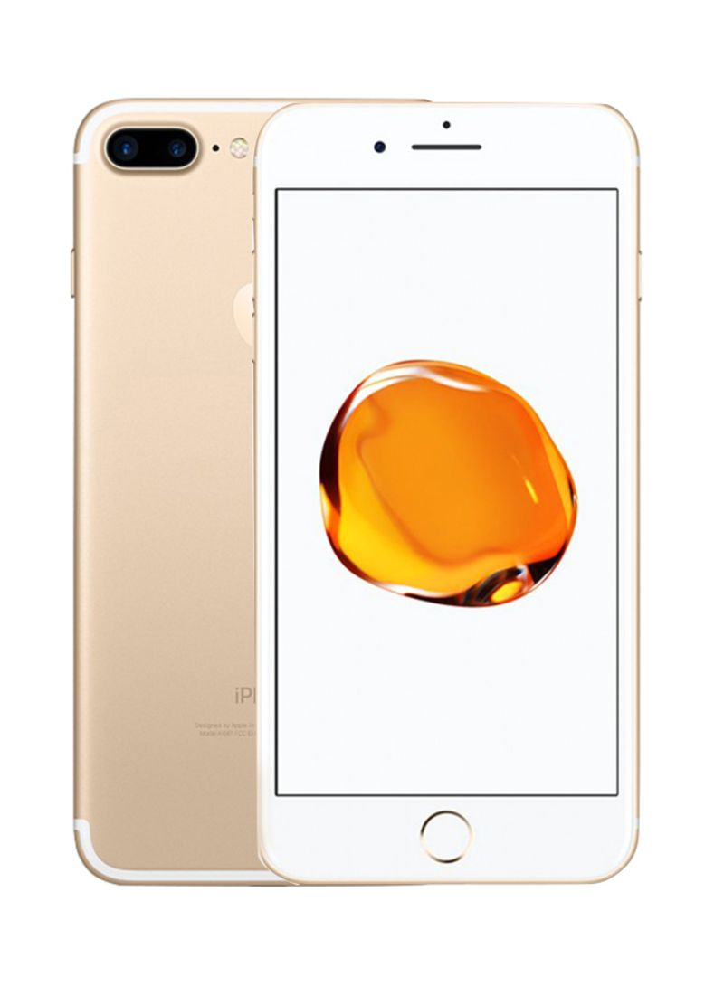 Shop Apple iPhone 7 Plus With FaceTime Gold 128GB 4G LTE (KSA) online in  Dubai, Abu Dhabi and all UAE