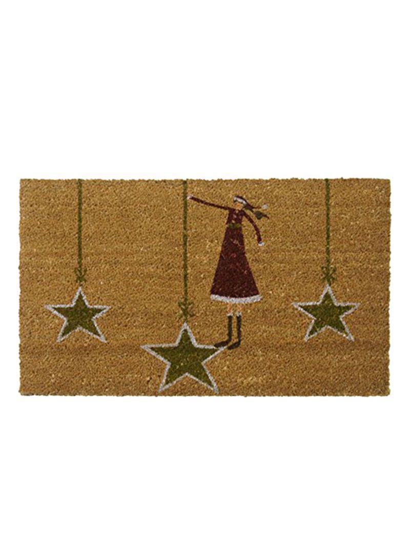 Modern Doormat 10-106-053 18 x 30 inches Rubber-Cal Contemporary Holiday Door Mats