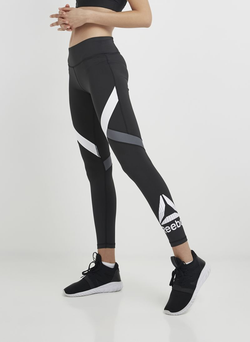 8bb6862af68 Shop Reebok Wor Big Delta Tights Black/White online in Dubai, Abu ...
