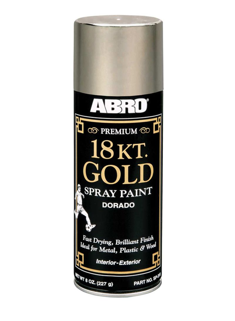 Shop Abro Premium 18 Kt Gold Spray Paint Online In Riyadh Jeddah And All Ksa