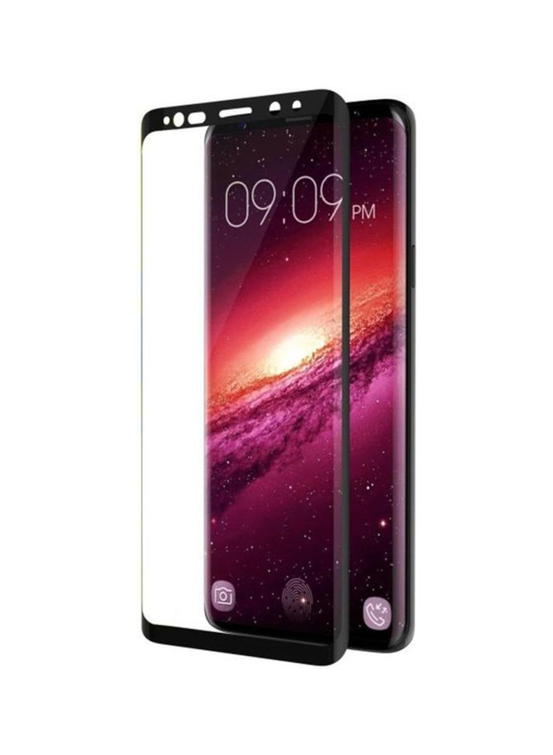Shop Trands 3D Tempered Glass Screen Protector For Samsung Galaxy S9 Plus  Black/Clear online in Egypt
