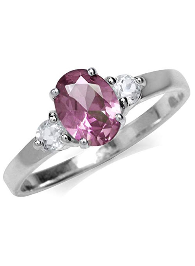Shop Silvershake 925 Sterling Silver White Gold Plated Colour