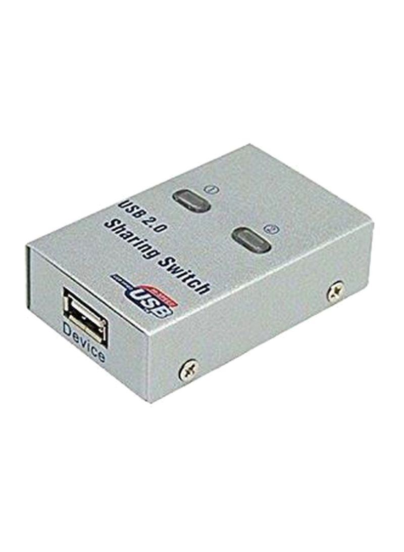 Shop Generic 2 USB Port Sharing Switch For PC Printer