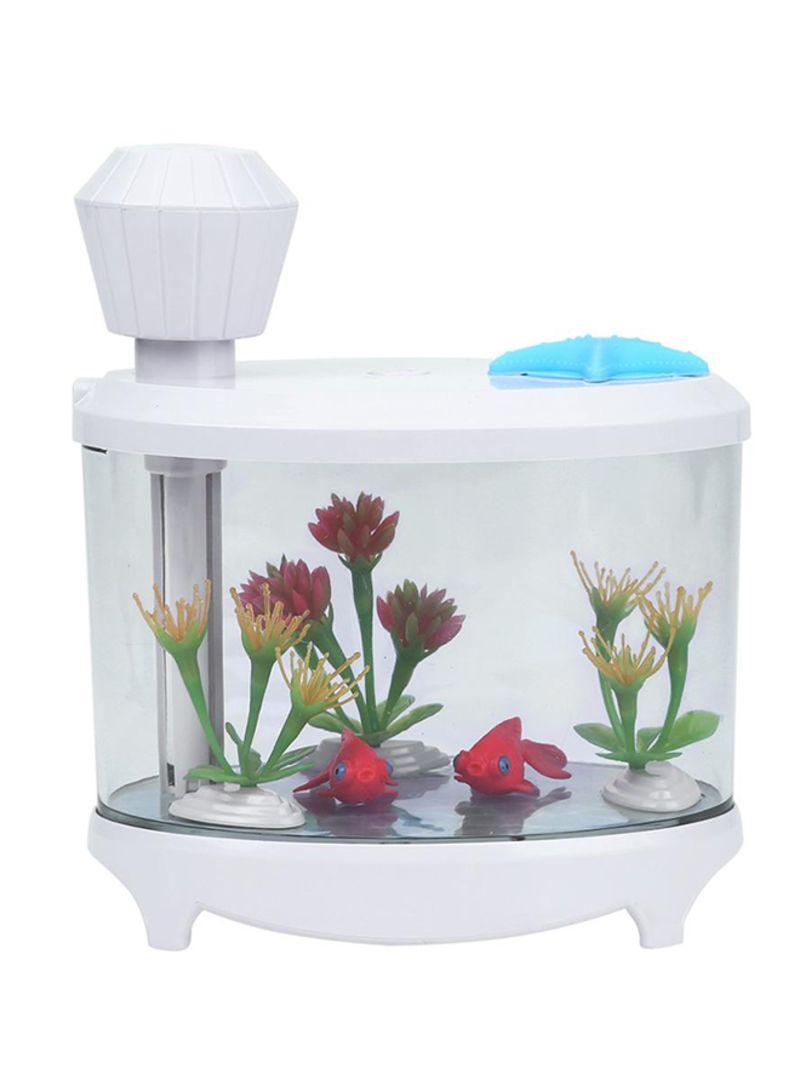 Usb Spray Led Night Light Fish Tank Air Humidifier Nf0123030009 White Price In Uae Noon Uae Kanbkam