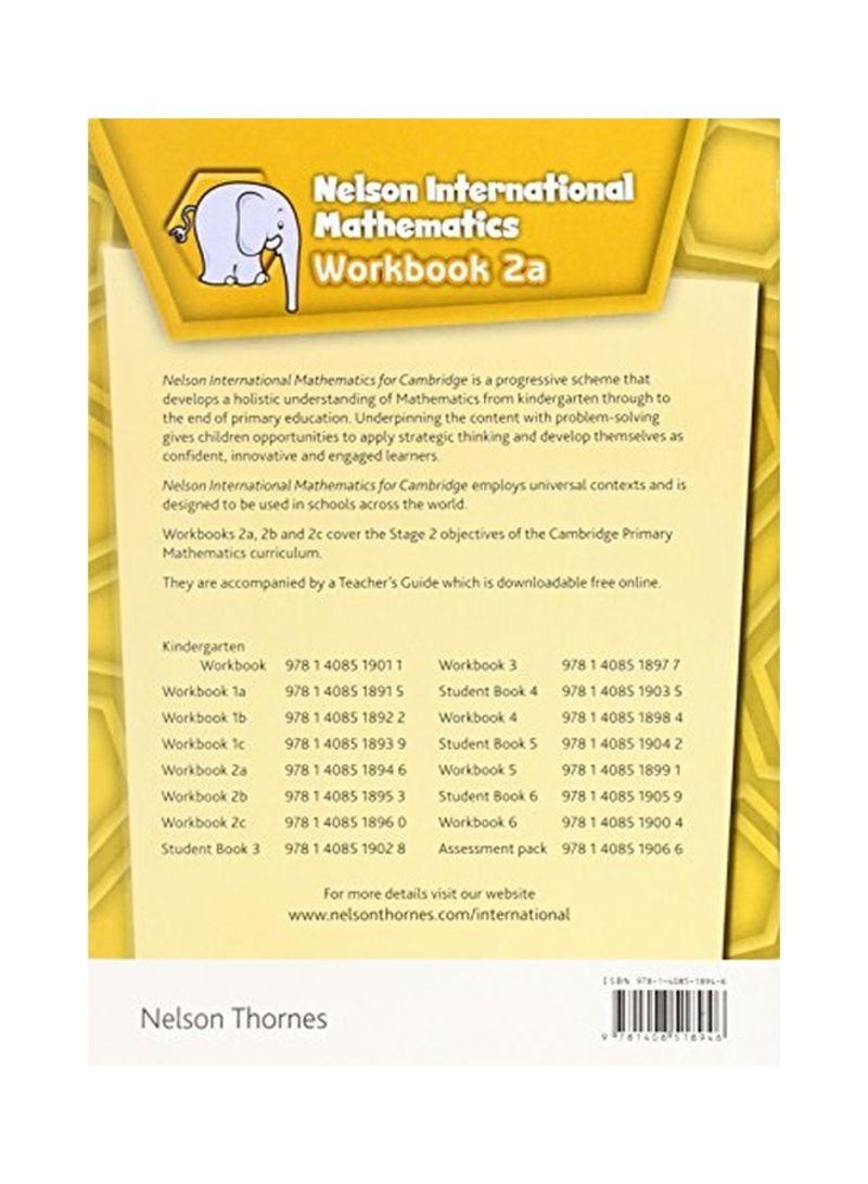 Shop Nelson International Mathematics: Workbook 2A Spiral