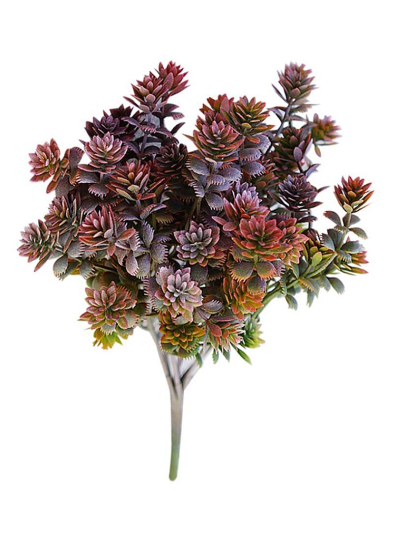 Shop Bluelans 7 Branch Artificial Flower Arrangement Multicolour Online In Dubai Abu Dhabi And All Uae