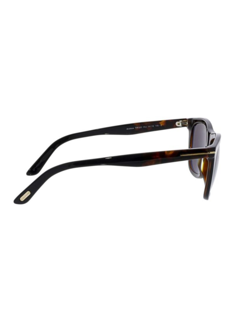 6abc48e68a Shop TOM FORD Andrew Rectangle Sunglasses FT0500-05J-54 online in ...