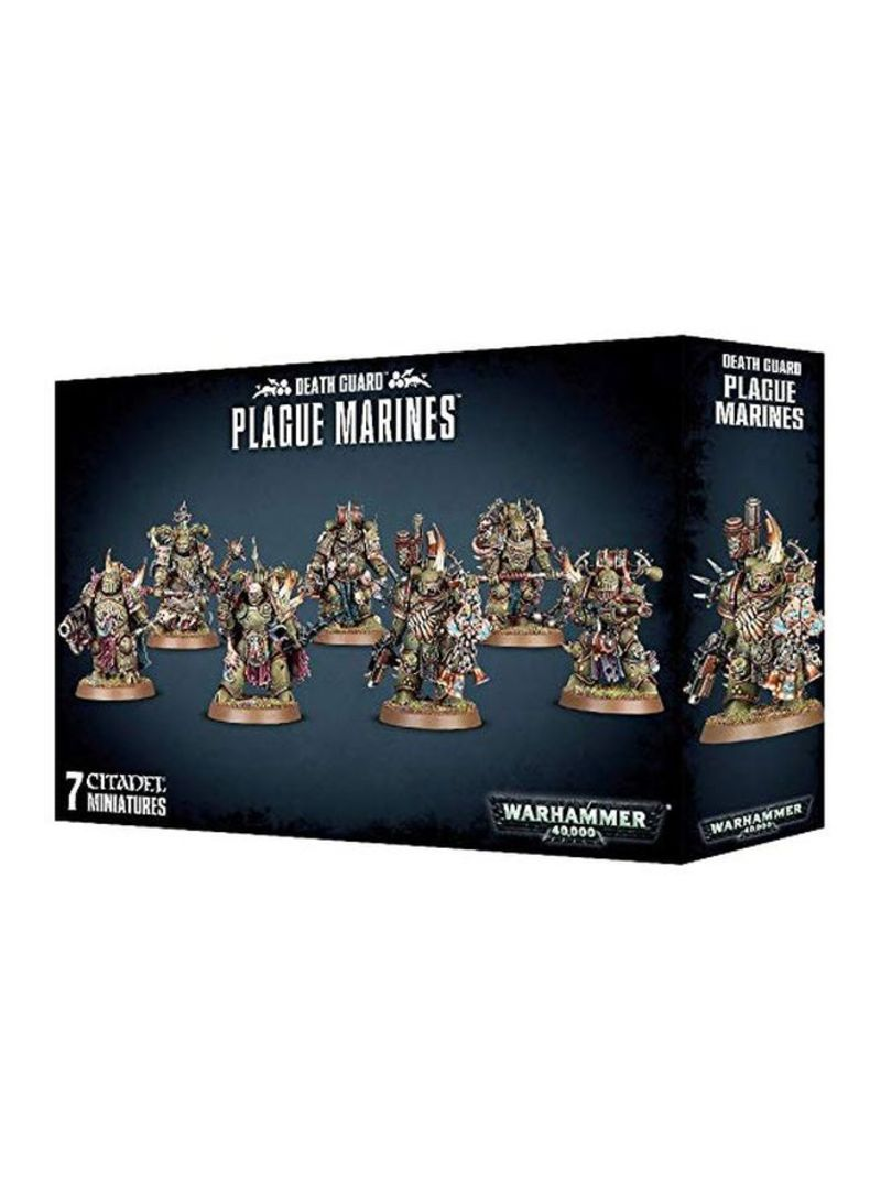 Shop Games Workshop Warhammer 40k - Death Guard Plague Marines 23x14x5  centimeter online in Dubai, Abu Dhabi and all UAE