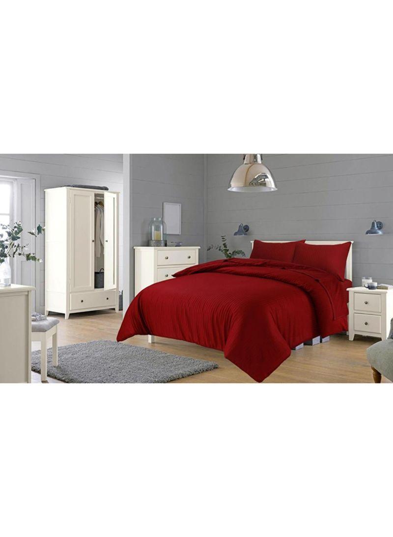 تسوق هوم كومفرت وSatin Cotton Pillowcases قطن كستنائي 48 x 74 x 15سنتيمتر أونلاين في السعودية