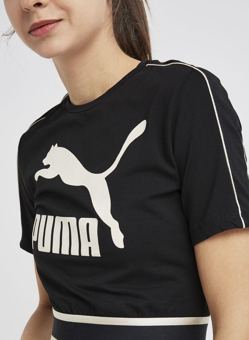 40a133a477e Shop Puma Revolt Cropped Tee Cotton Black Cotton Black online in Egypt