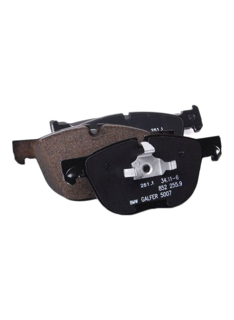64b5a90092 Shop BMW 4-Piece Front Brake Pad Set For BMW X5/E70/19.70MM/07 online in  Dubai, Abu Dhabi and all UAE