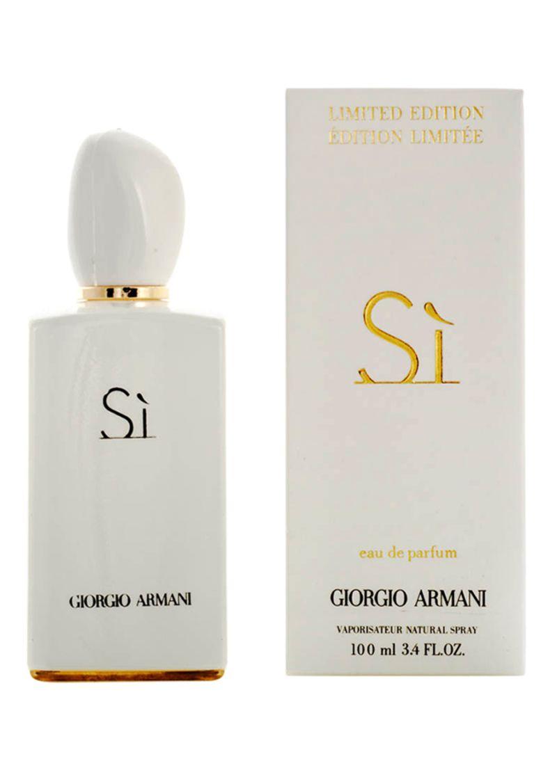 armani si limited edition