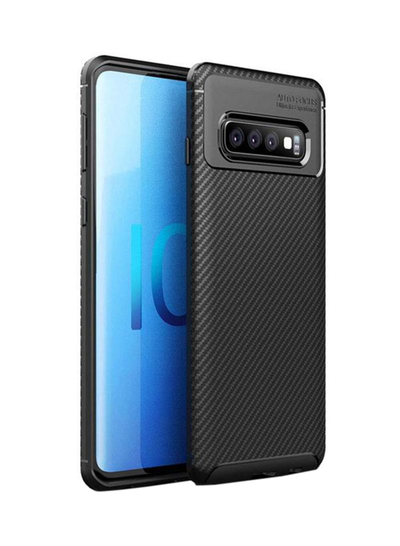 cheap for discount 35c62 bd73f Shop LNKOO Protective Case Cover For Samsung Galaxy S10 Plus Black online  in Dubai, Abu Dhabi and all UAE