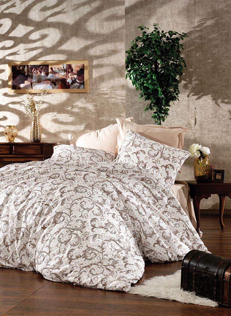 4 Piece Plants Design Turkish Cotton Duvet Cover Set With Fitted Sheet White Beige King Price In Saudi Arabia Noon Saudi Arabia Kanbkam