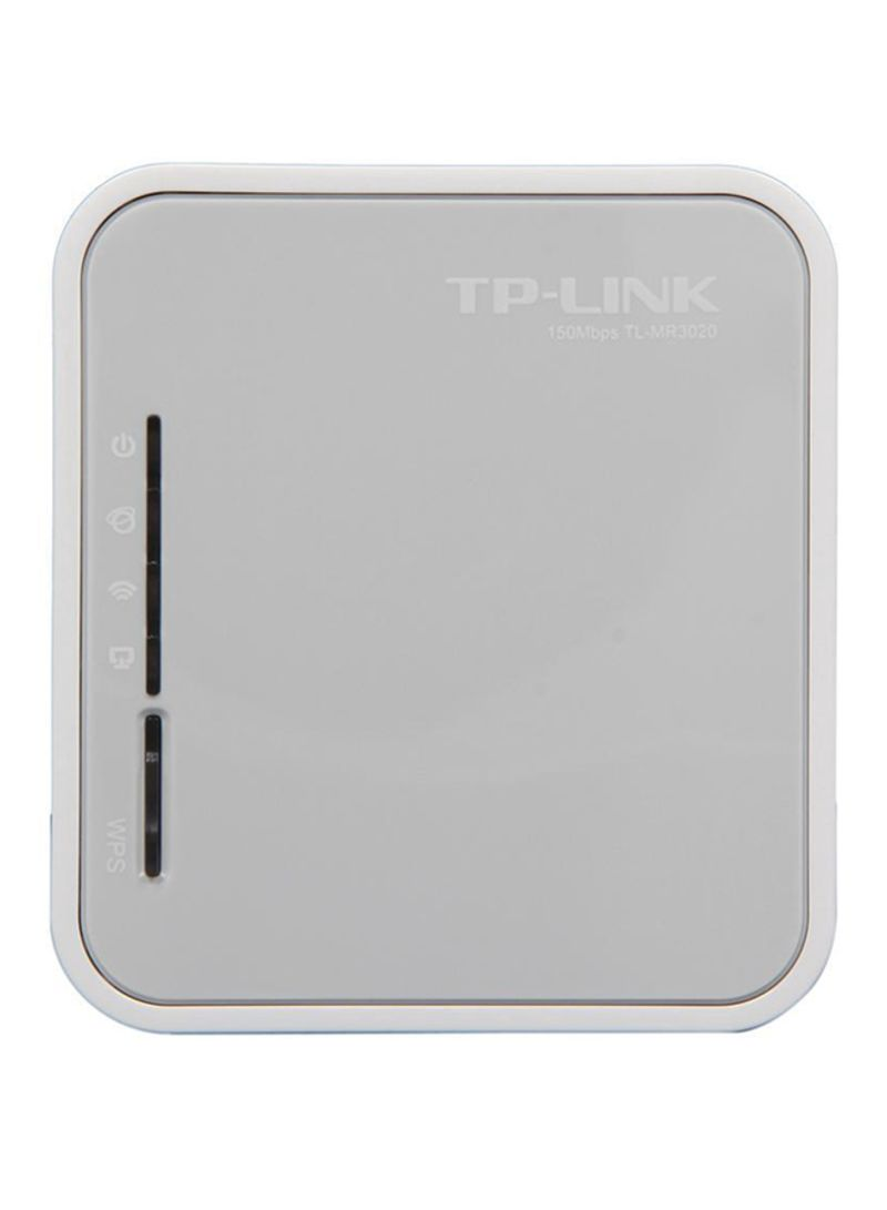 Shop TP-LINK TP-Link TL-MR3020 3G / 4G Wireless N Portable Router 4 Mbps  multicolour online in Dubai, Abu Dhabi and all UAE