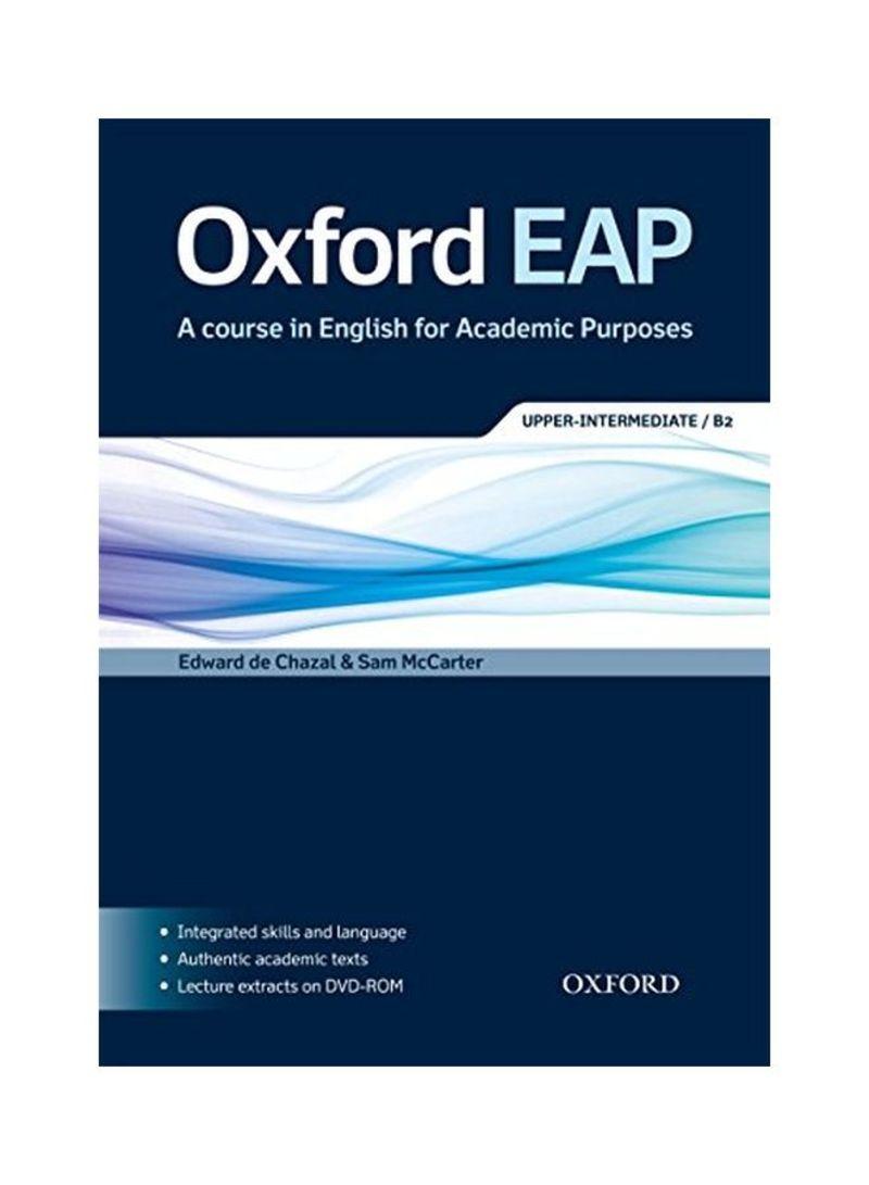 تسوق وOxford EAP: A Course In English For Academic Purposes  Upper-Intermediate/B2 أونلاين في الإمارات