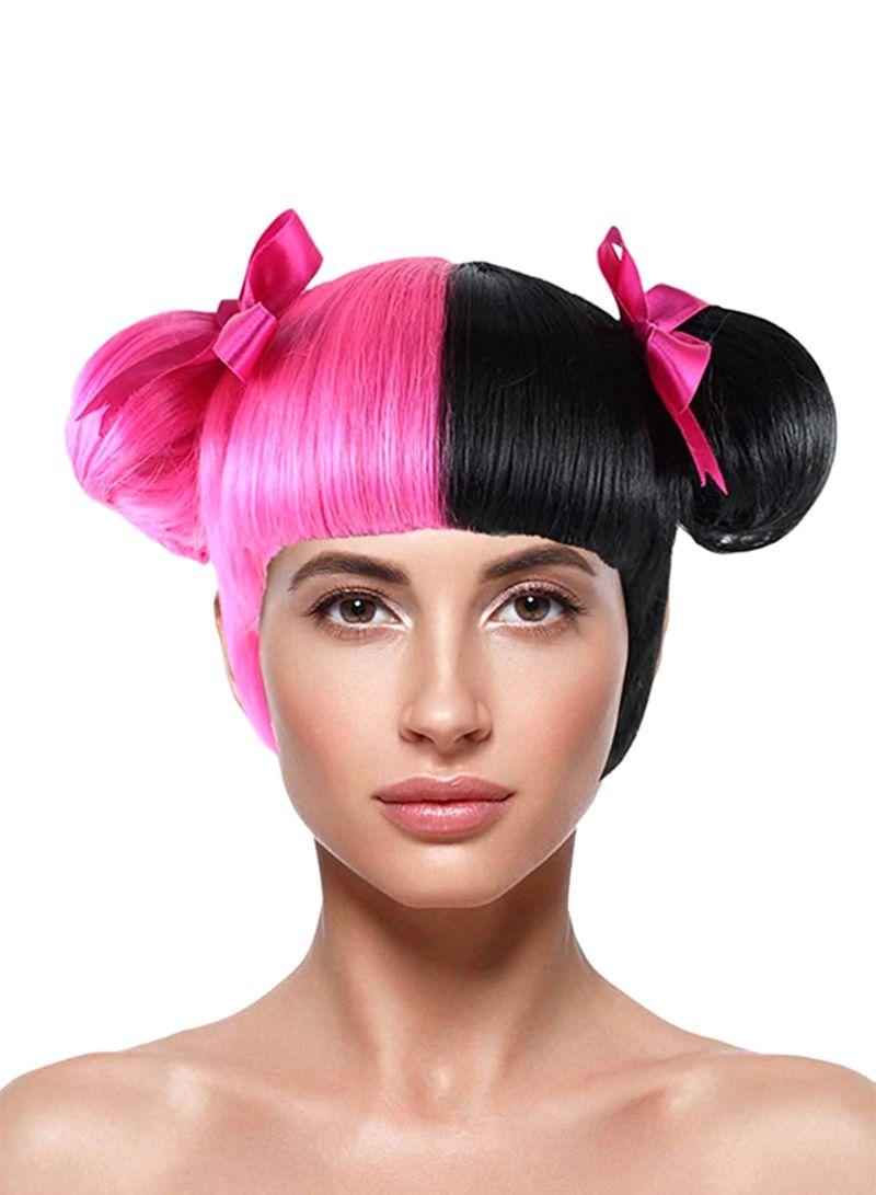 Shop Melanie Martinez Double Bun Wig Pink Black Online In Riyadh Jeddah And All Ksa