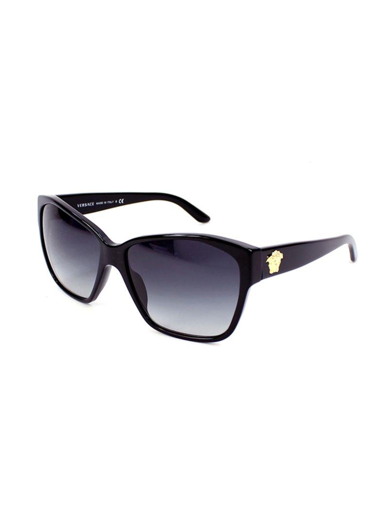 fc8d9eec66 Shop VERSACE Women s UV Protection Cat-Eye Sunglasses 4277 GB1 8G 60 ...