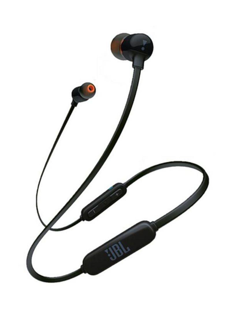 جي بي ال T110BT سماعات لاسلكية في الاذن ميكروفون عن بعد بثلاثة ازرار (رمادي)