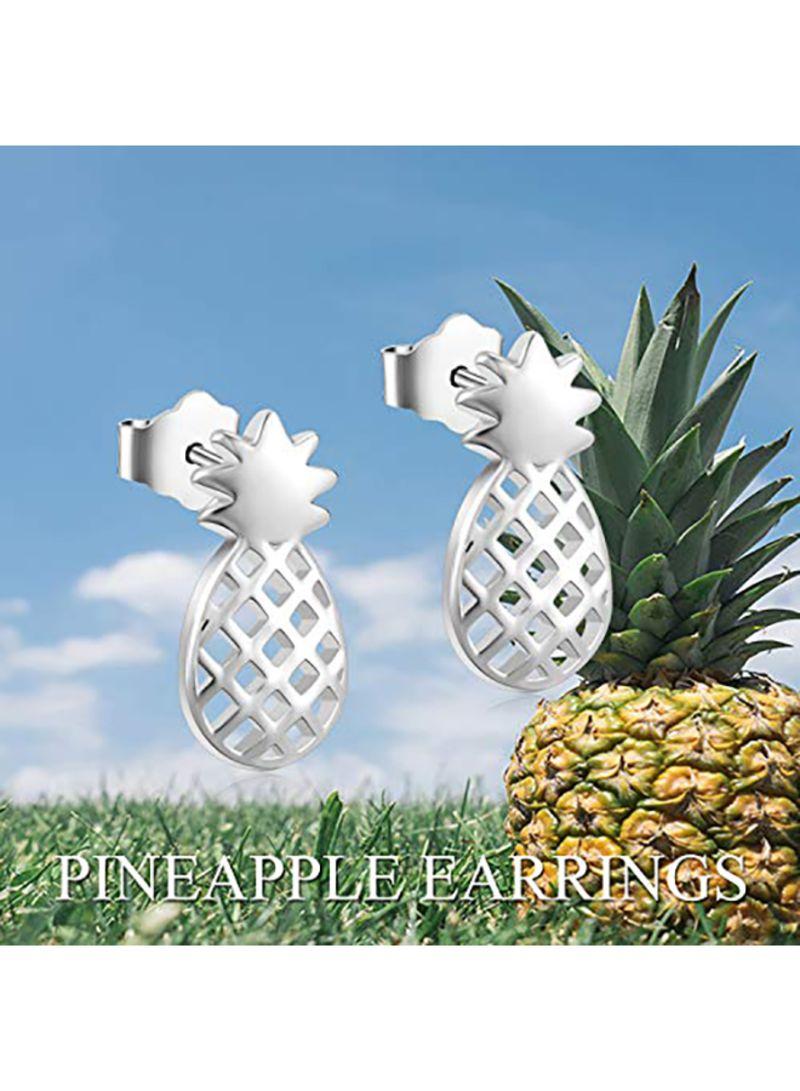 d8cecfb7d Shop YFN Sterling Silver Pineapple Stud Earrings online in Dubai ...
