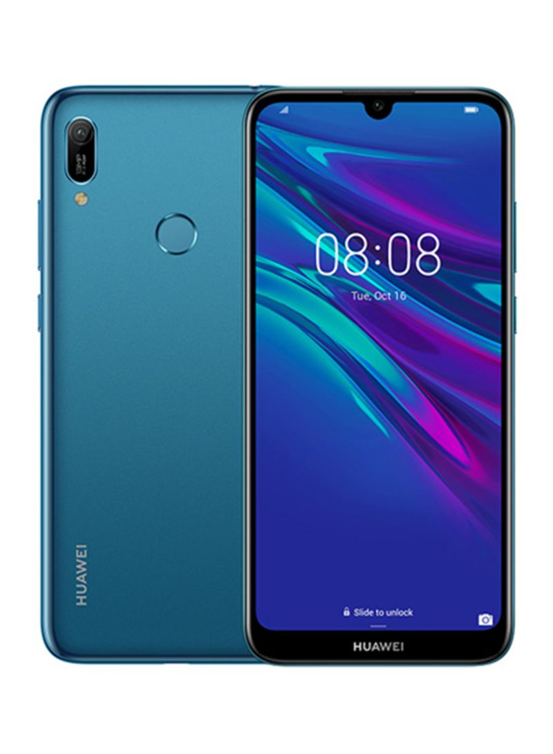 تسوق هواوي وهاتف Y6 برايم إصدار 2019 بشريحتين لون أزرق ياقوتي بسعة 32 جيجابايت وذاكرة Ram سعة 2 جيجابايت ومزود بتقنية 4g Lte أونلاين في السعودية