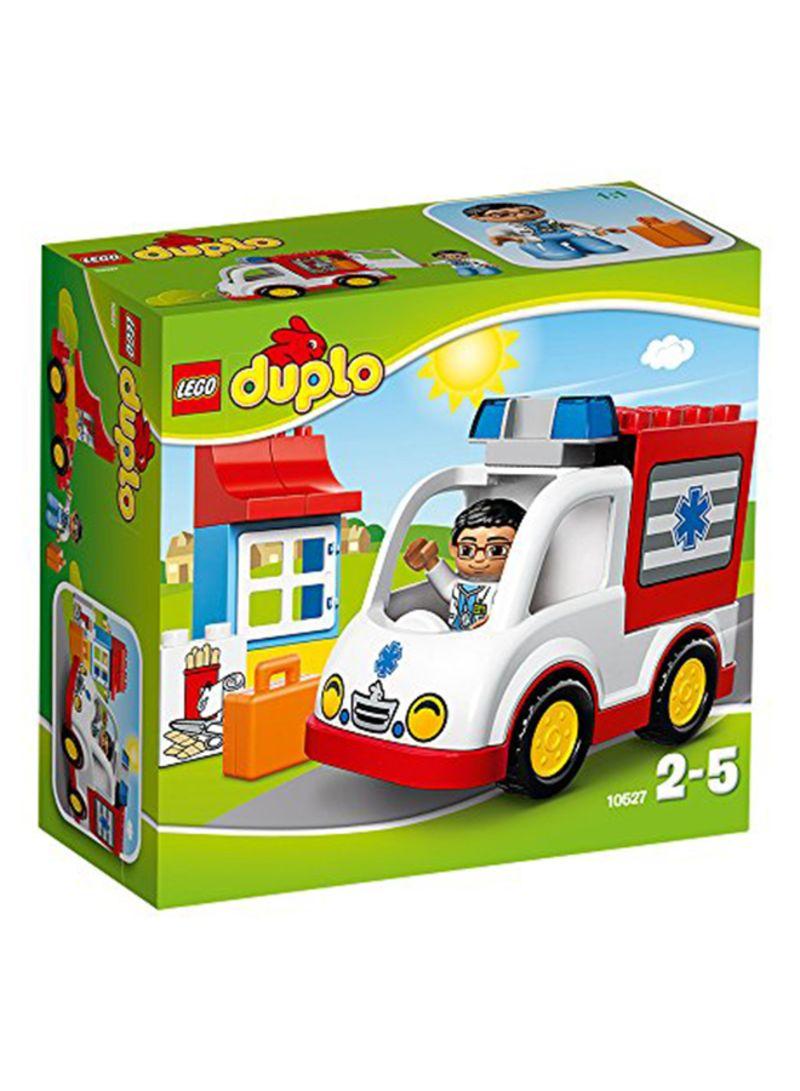 Shop Lego Duplo Ville Ambulance Building Set Online In Riyadh