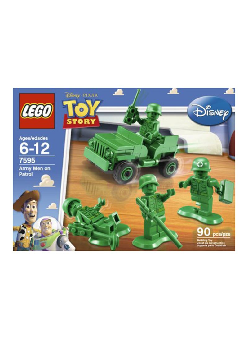 *BRAND NEW* Lego Disney Pixar TOY STORY Army Men on Patrol 7595
