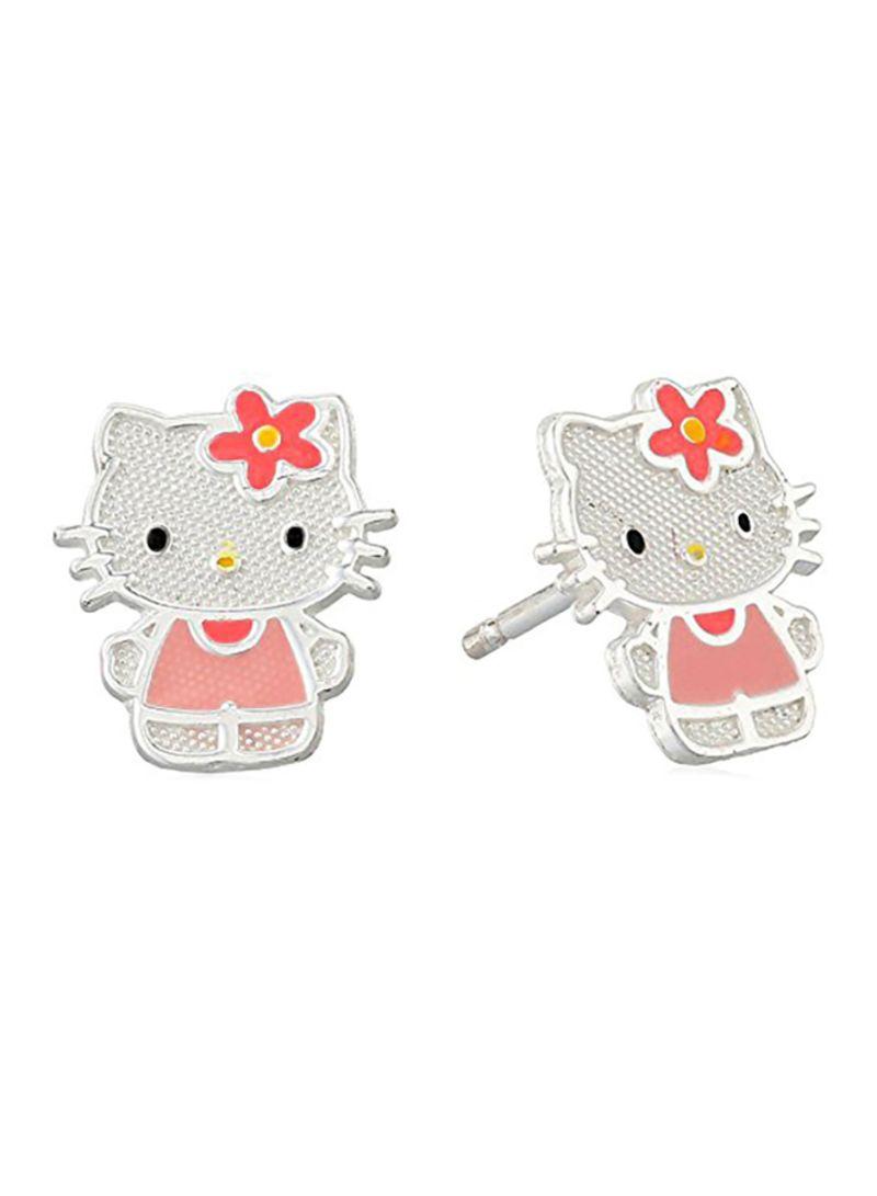efbcf7165 Shop Hello Kitty Hello Kitty Sterling Silver Stud Earrings online in ...
