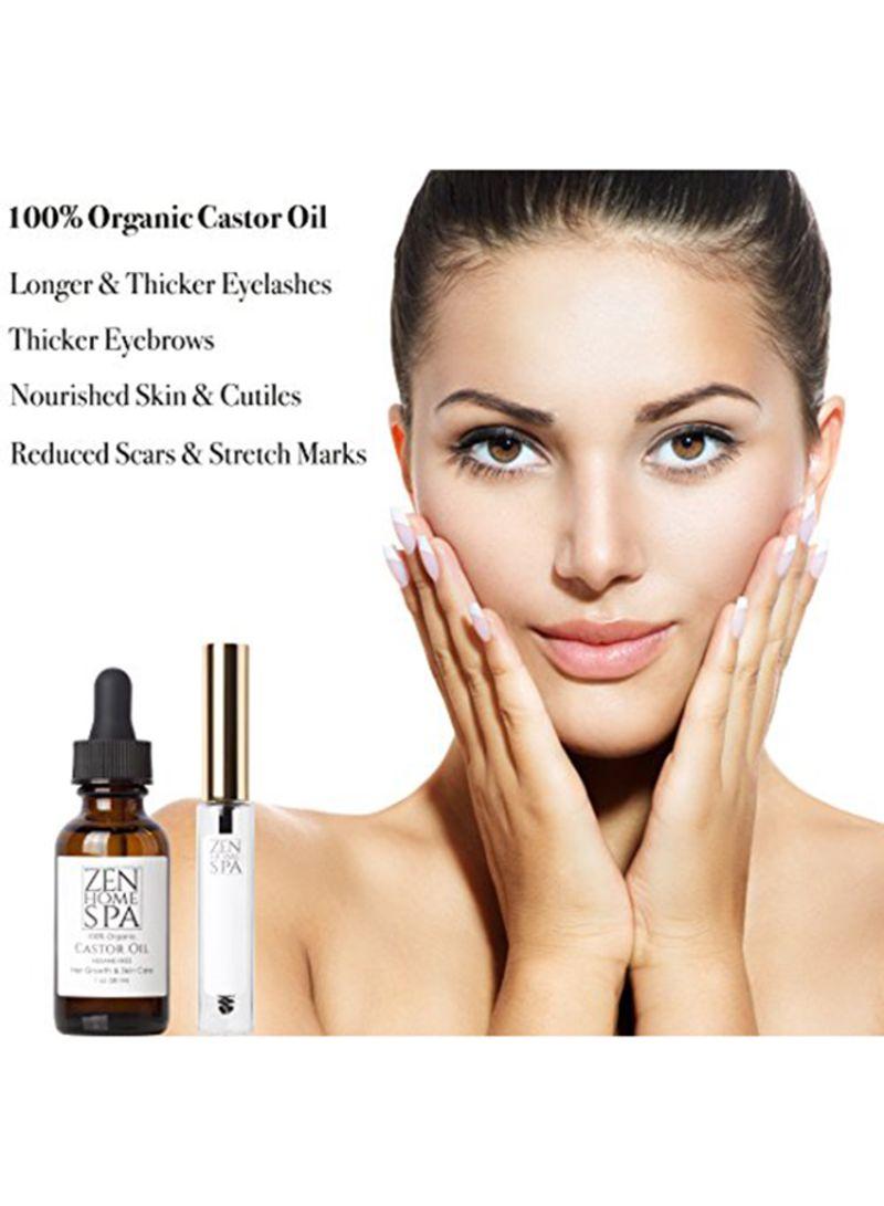Shop ZEN HOME SPA Pure Organic Castor Oil Kit Black online in Dubai, Abu  Dhabi and all UAE