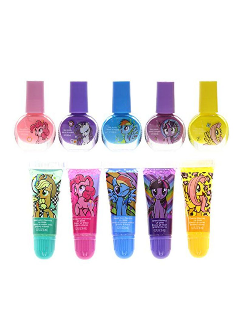 Shop TOWNLEY GIRL Townleygirl My Little Pony Super Sparkly Cosmetic Set  With Lip Gloss Multicolour online in Dubai, Abu Dhabi and all UAE