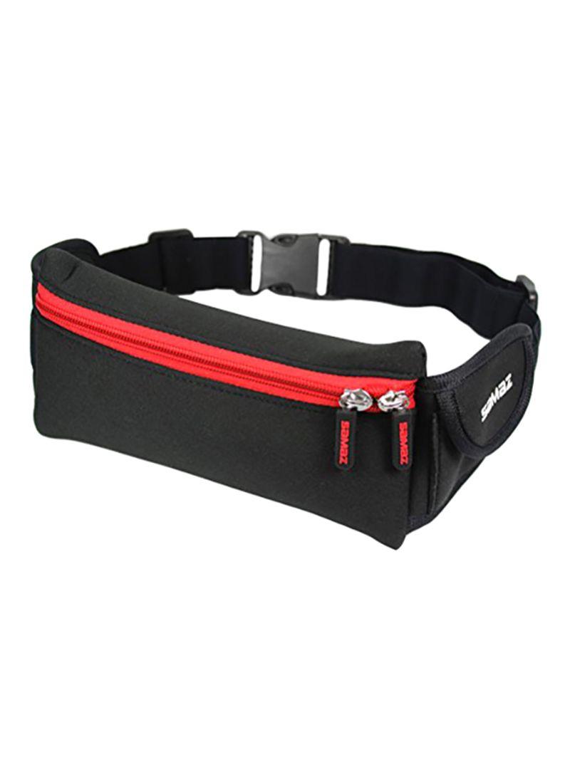 Dog Skateboard Funny Sport Waist Bag Fanny Pack Adjustable For Run